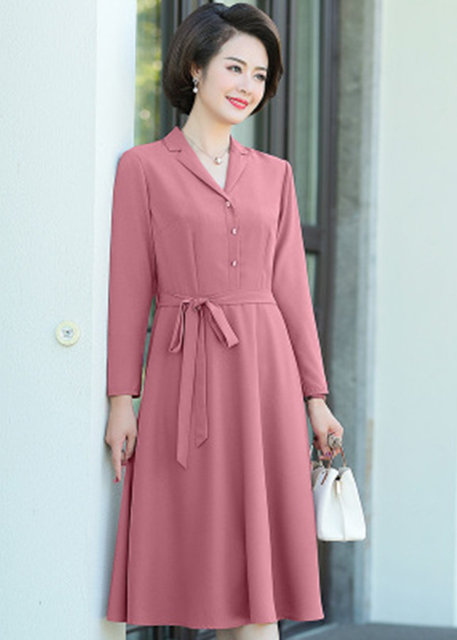 Đầm Trung Niên Vintage Dịu Dàng Korea TT - KR32