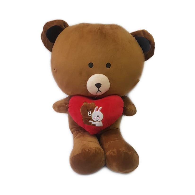 Gấu bông brown 1m1 vải nhung mịn cao cấp