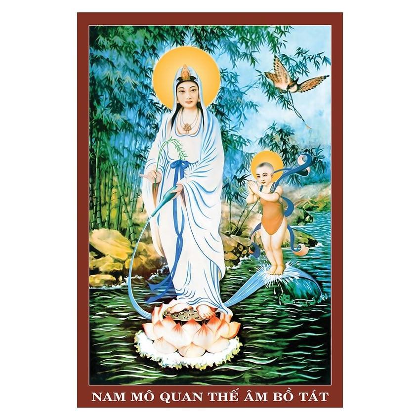 Tranh Phật Giáo Quan Thế Âm Bồ Tát 2326 - 3961818750051,62_6284965,229000,tiki.vn,Tranh-Phat-Giao-Quan-The-Am-Bo-Tat-2326-62_6284965,Tranh Phật Giáo Quan Thế Âm Bồ Tát 2326