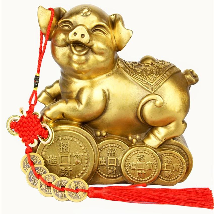 Tượng linh vật con heo bằng đồng thau phong thủy Tâm Thành Phát - 1319925 , 9026515871028 , 62_7980303 , 1500000 , Tuong-linh-vat-con-heo-bang-dong-thau-phong-thuy-Tam-Thanh-Phat-62_7980303 , tiki.vn , Tượng linh vật con heo bằng đồng thau phong thủy Tâm Thành Phát