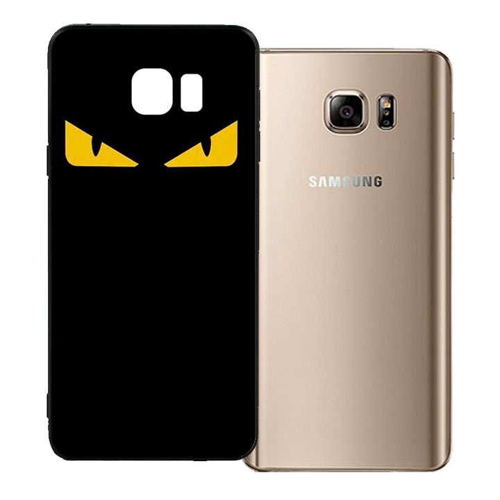 Ốp lưng viền TPU cho Samsung Galaxy Note 5 - Monster 02