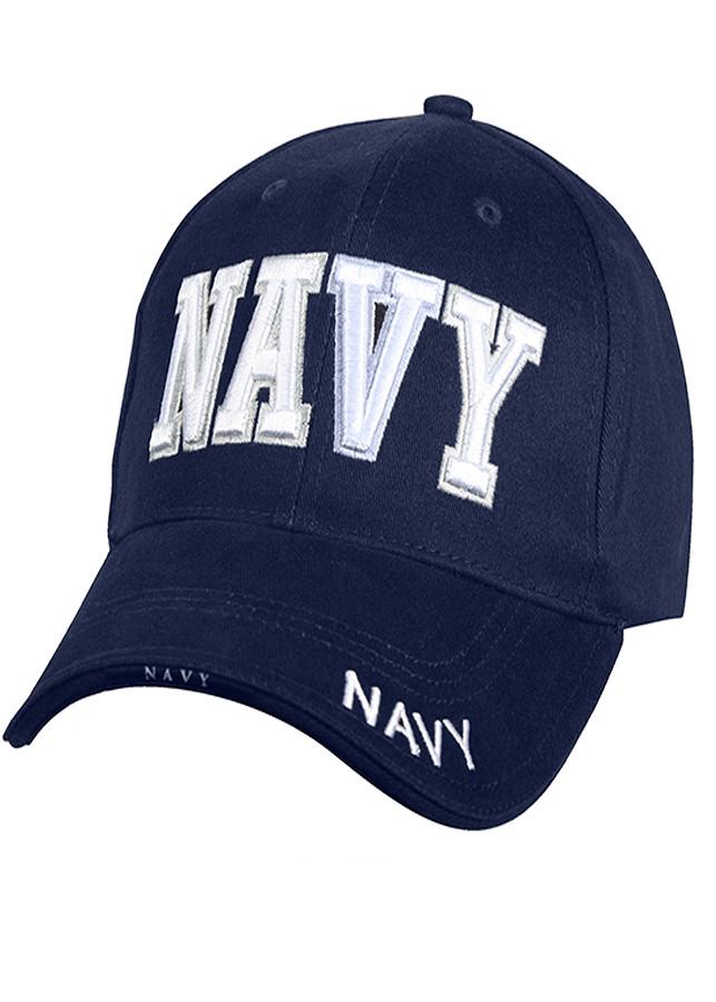 Mũ quân đội 9393 Rothco Deluxe low profile cap / NAVY