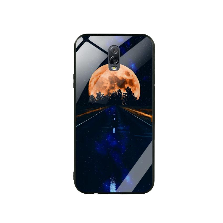 Ốp Lưng Kính Cường Lực cho điện thoại Samsung Galaxy J7 Plus - Moon 09