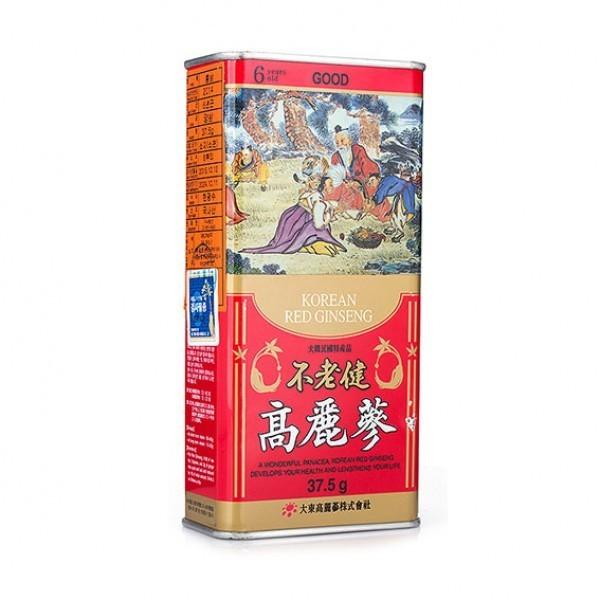 Hồng sâm củ khô 37.5gr Premium Deadong