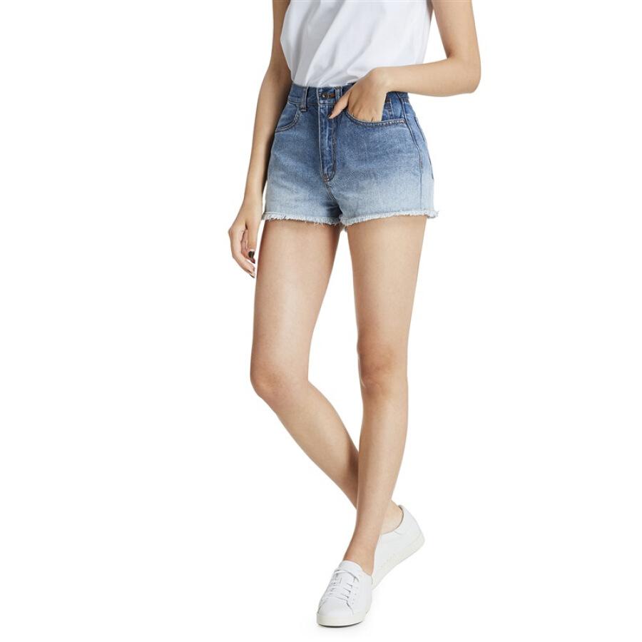 Quần Jeans Lửng Nữ JINGZAO