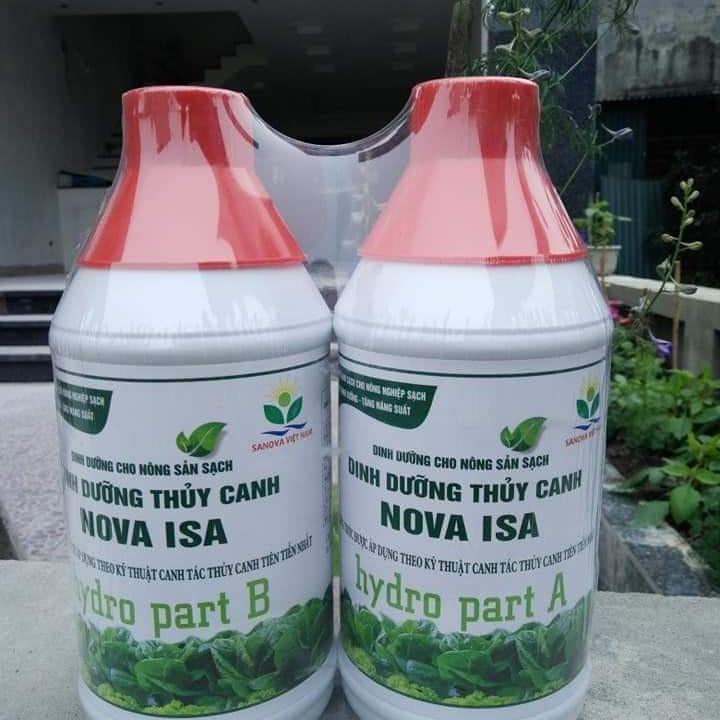 Dinh dưỡng trồng rau thủy canh Nova ISA - 1474333 , 3922949163080 , 62_14932131 , 140000 , Dinh-duong-trong-rau-thuy-canh-Nova-ISA-62_14932131 , tiki.vn , Dinh dưỡng trồng rau thủy canh Nova ISA