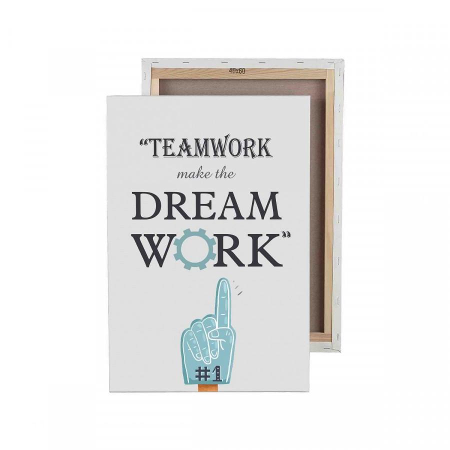 Tranh trang trí in UV Teamwork - 5147239 , 8333818847249 , 62_16641123 , 1749000 , Tranh-trang-tri-in-UV-Teamwork-62_16641123 , tiki.vn , Tranh trang trí in UV Teamwork