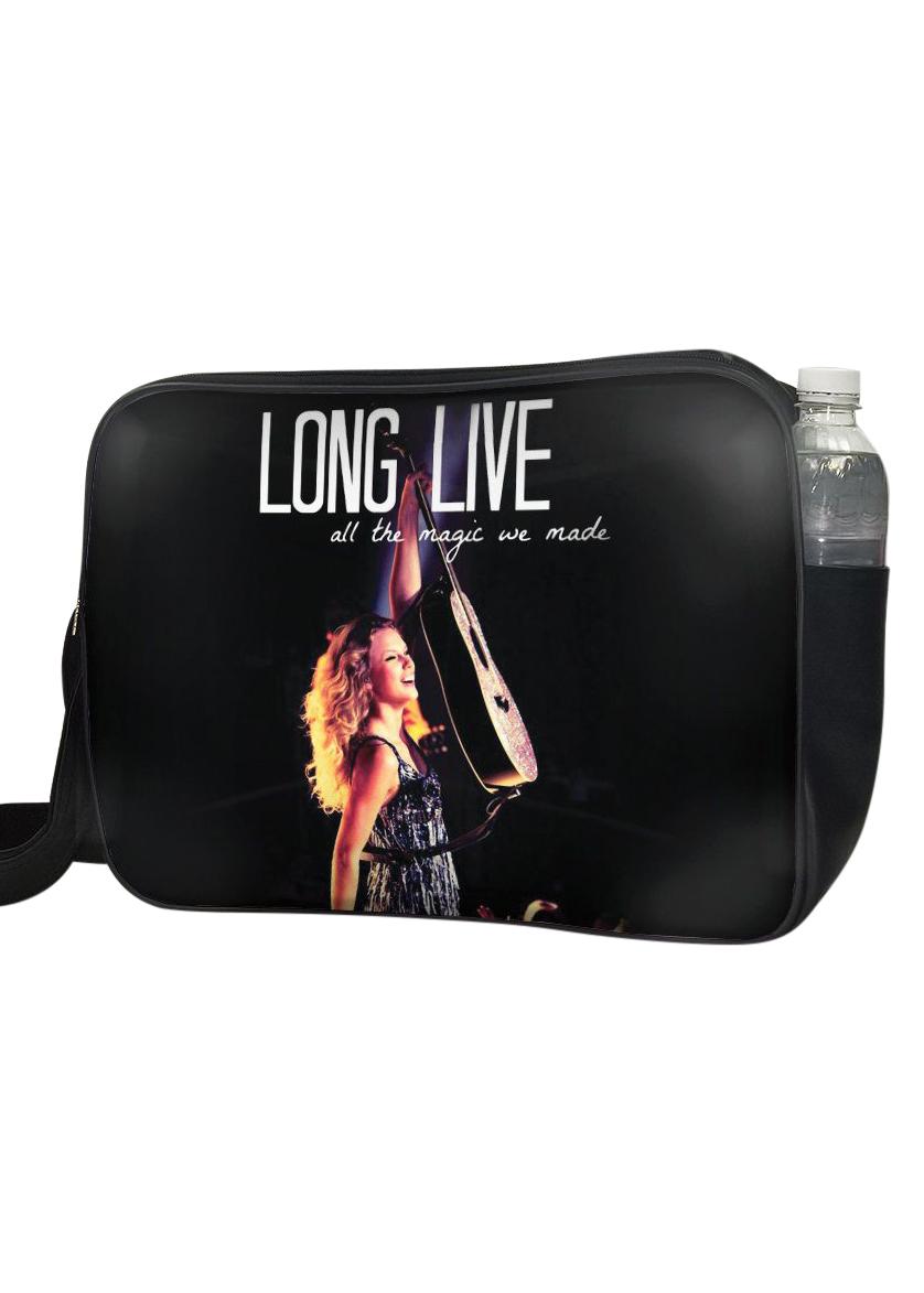 Túi Đeo Chéo Hộp Unisex In Hình Taylor Swift Long Live - Up011