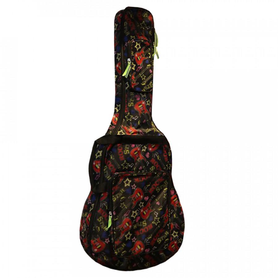 Bao Đàn Guitar 3 Lớp Custom - Black - 775234 , 5523066883004 , 62_11081816 , 350000 , Bao-Dan-Guitar-3-Lop-Custom-Black-62_11081816 , tiki.vn , Bao Đàn Guitar 3 Lớp Custom - Black