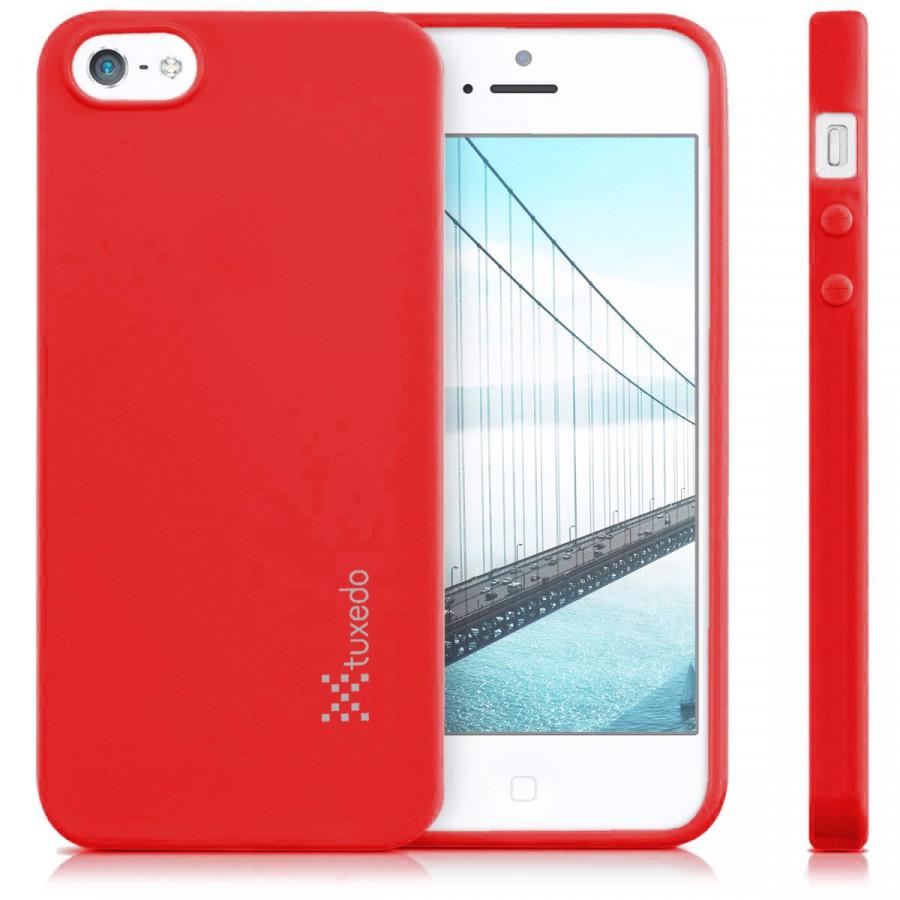 Ốp lưng iPhone SE/iPhone 5/5s, Tuxedo Frosted (Nhựa dẻo cao cấp, siêu mỏng, chống xước)
