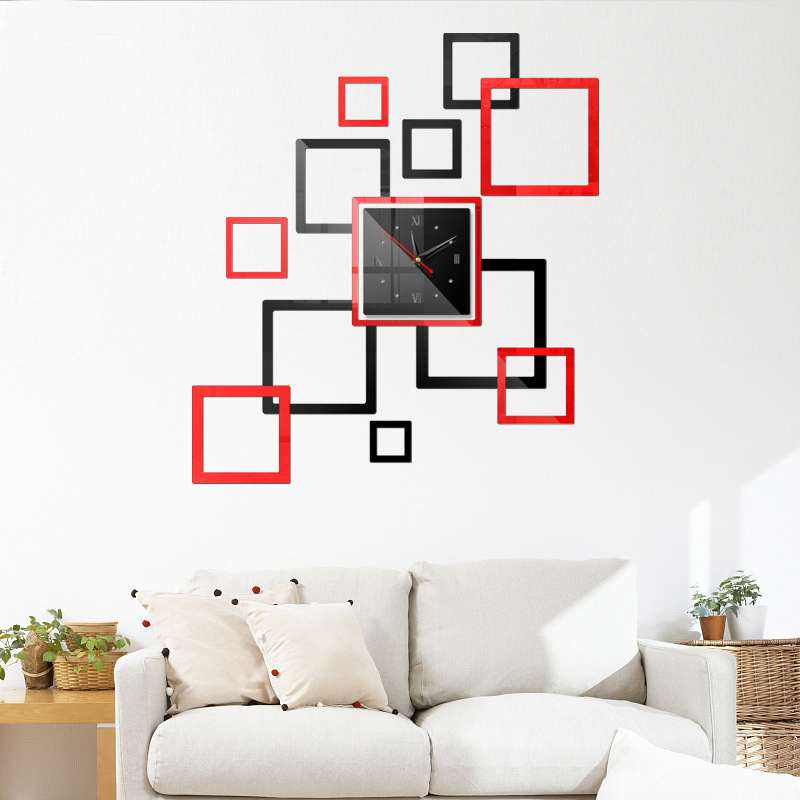 Đồng hồ treo tường 3D tự lắp ráp phong cách Châu Âu hiện đại  DH01 hình vuông - 2202221 , 9289393776131 , 62_14134904 , 400000 , Dong-ho-treo-tuong-3D-tu-lap-rap-phong-cach-Chau-Au-hien-dai-DH01-hinh-vuong-62_14134904 , tiki.vn , Đồng hồ treo tường 3D tự lắp ráp phong cách Châu Âu hiện đại  DH01 hình vuông