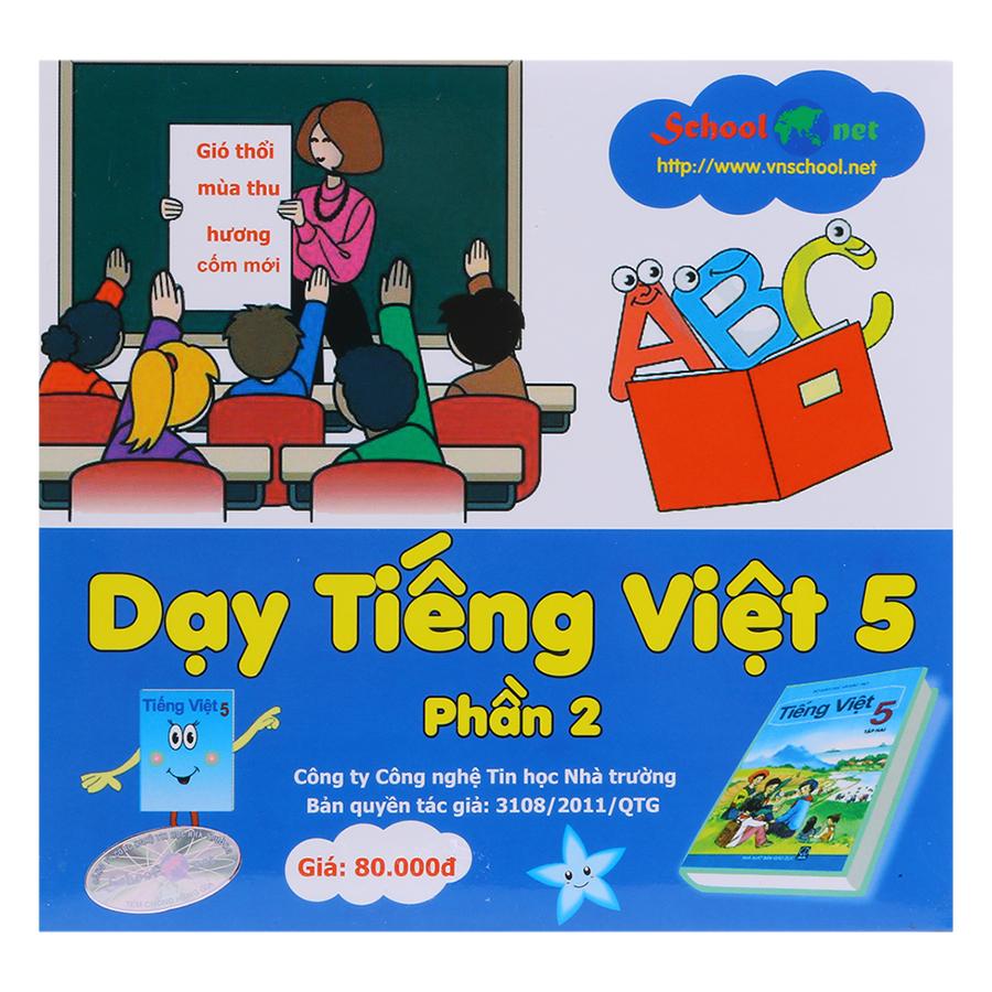 Phần Mềm Dạy Tiếng Việt 5 Phần 2 DTV5P2