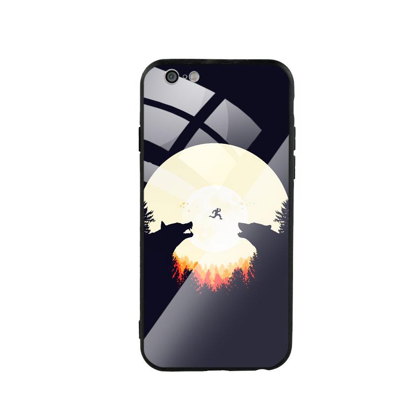 Ốp Lưng Kính Cường Lực cho điện thoại Iphone 6 / 6s -  Moon 05