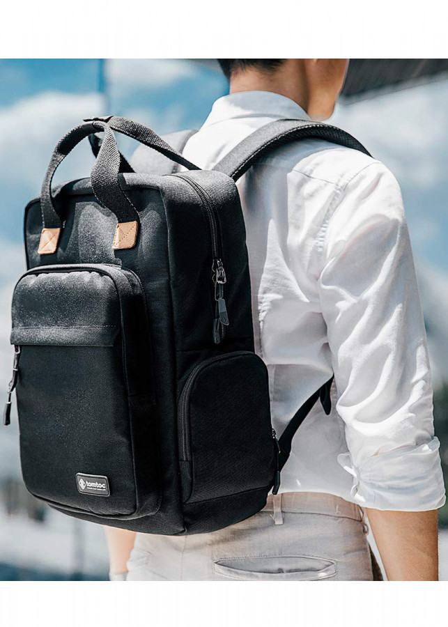 Balo Tomtoc A60 (Usa) Daily Backpack For Ultrabook 15'/22l Black - 7428379 , 1663315802074 , 62_16069219 , 2000000 , Balo-Tomtoc-A60-Usa-Daily-Backpack-For-Ultrabook-15-22l-Black-62_16069219 , tiki.vn , Balo Tomtoc A60 (Usa) Daily Backpack For Ultrabook 15'/22l Black