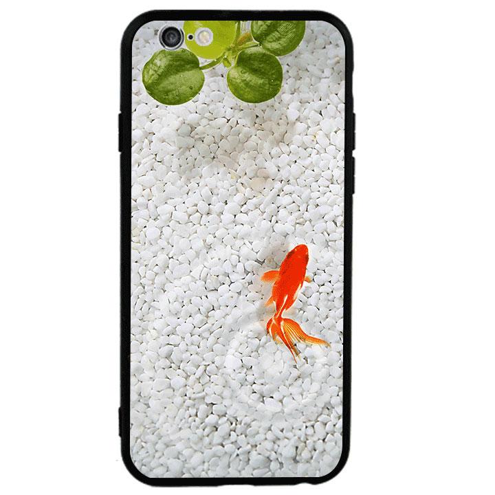 Ốp lưng viền TPU cao cấp cho Iphone 6 Plus - Cá Koi 01
