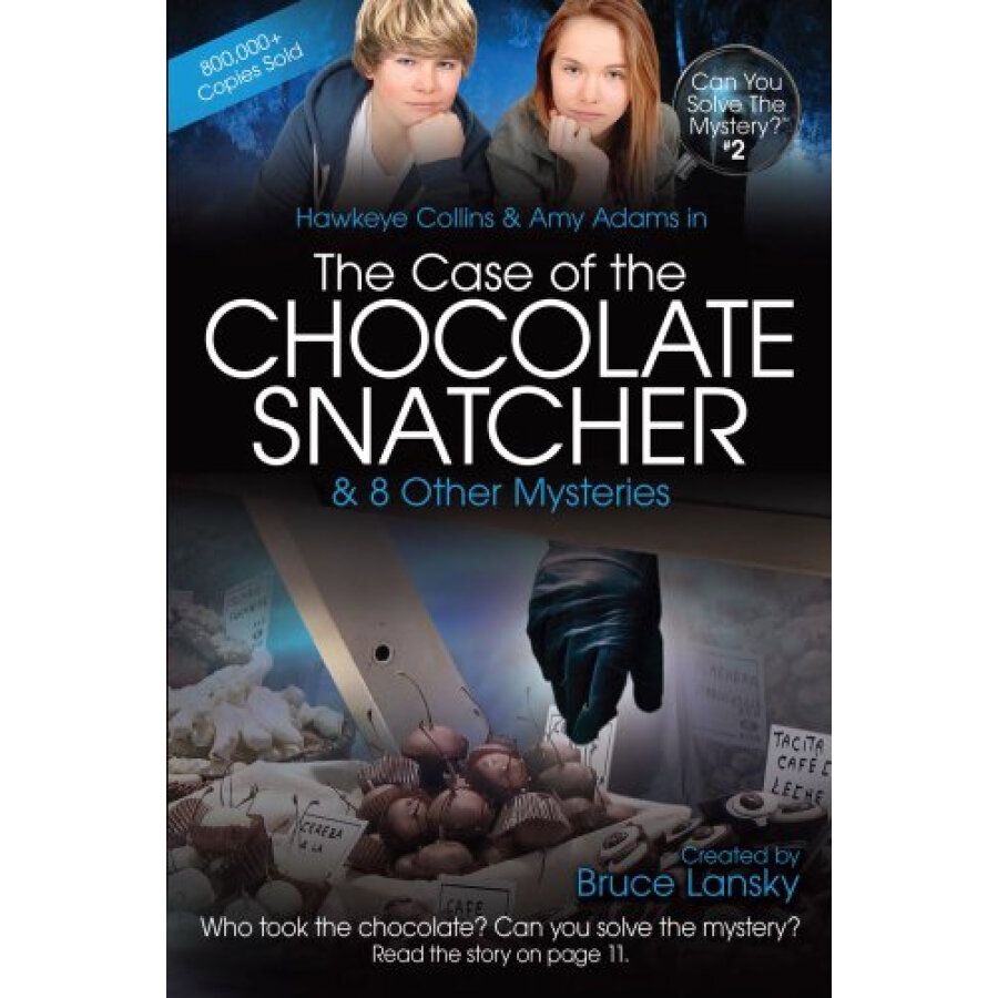 Can You Solve the Mystery #2: The Case of the Chocolate Snatcher