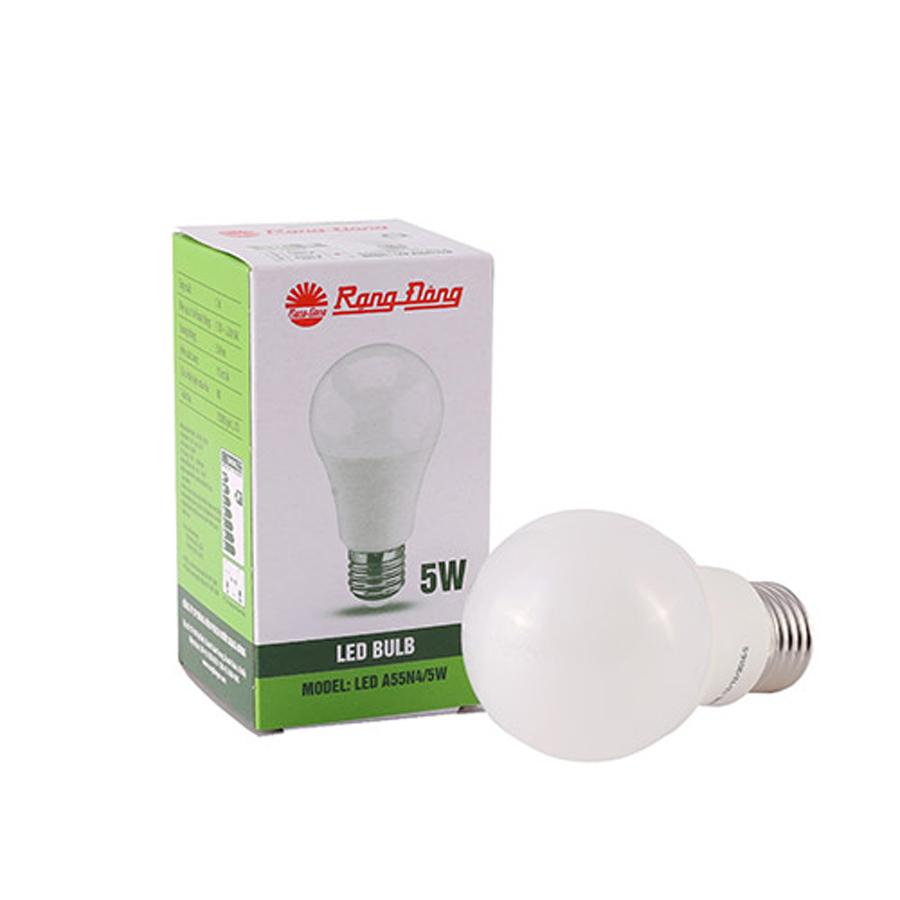 06 bóng đèn led bulb  5W ánh sáng vàng Rạng Đông - 5836048 , 3541010303776 , 62_16923163 , 250800 , 06-bong-den-led-bulb-5W-anh-sang-vang-Rang-Dong-62_16923163 , tiki.vn , 06 bóng đèn led bulb  5W ánh sáng vàng Rạng Đông