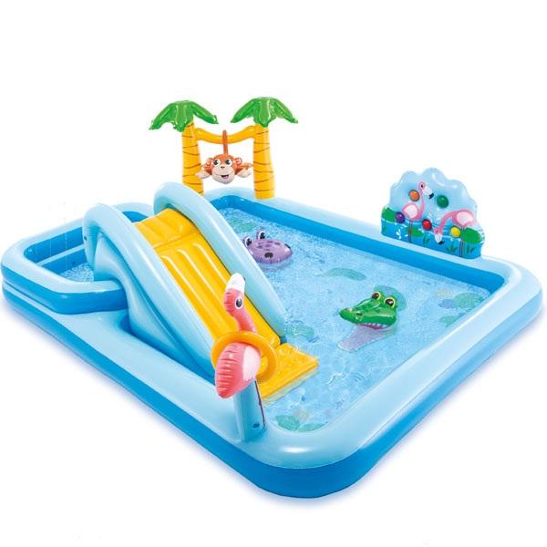 Bể bơi phao cầu trượt có vòi phun mưa INTEX 57161 - 9612140 , 7829294198339 , 62_19441739 , 1880000 , Be-boi-phao-cau-truot-co-voi-phun-mua-INTEX-57161-62_19441739 , tiki.vn , Bể bơi phao cầu trượt có vòi phun mưa INTEX 57161