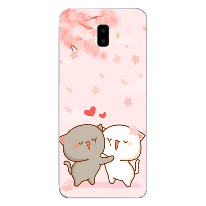 Ốp lưng dẻo cho điện thoại Samsung Galaxy J6 PLus_0509 LOVELY05 - Hàng Chính Hãng