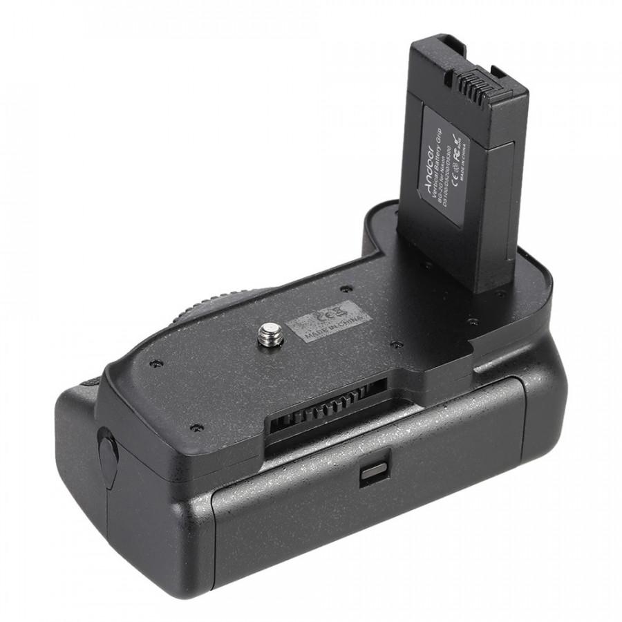 Giá Đỡ Pin Dọc Cho Máy Ảnh DSLR Nikon D5100 D5200 D5300