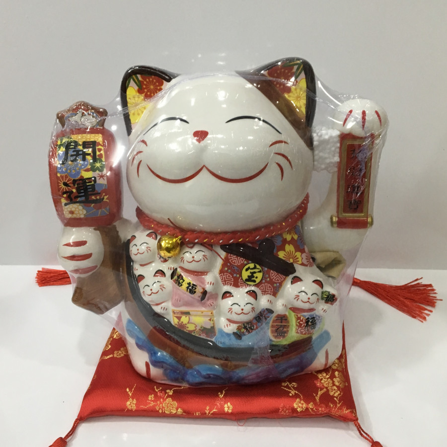 Mèo sứ may mắn - Maneki-Neco 01 - 4853909 , 3243777815492 , 62_16288777 , 690000 , Meo-su-may-man-Maneki-Neco-01-62_16288777 , tiki.vn , Mèo sứ may mắn - Maneki-Neco 01