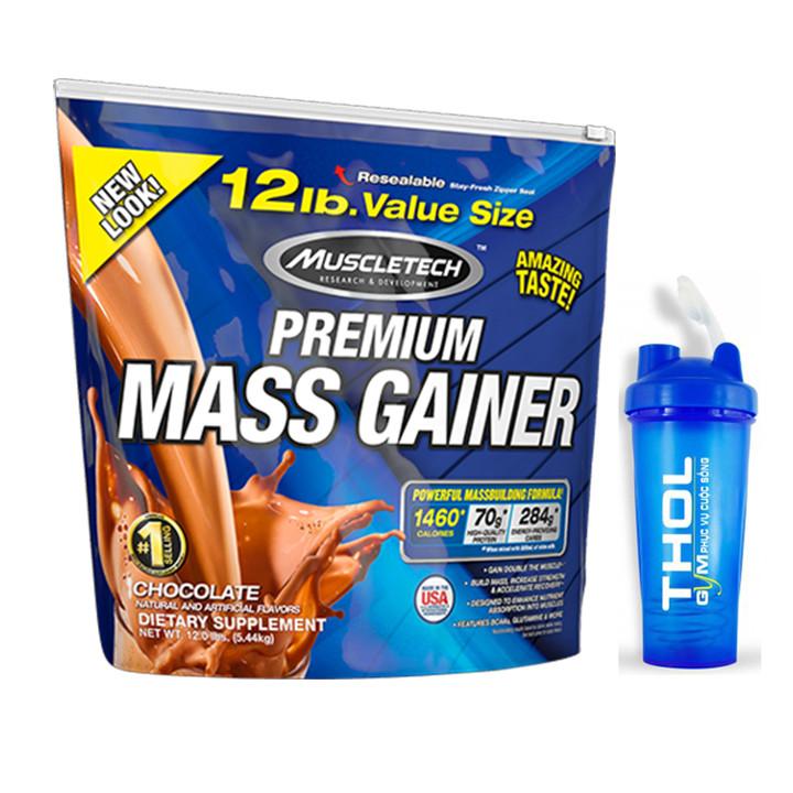 Combo Sữa tăng cân Premium Mass Gainer của Muscle Tech hương Chocolate bịch 5.4 kg  Bình lắc 600 ml (Màu Ngẫu Nhiên) - 5745704 , 5420224614480 , 62_5972621 , 1650000 , Combo-Sua-tang-can-Premium-Mass-Gainer-cua-Muscle-Tech-huong-Chocolate-bich-5.4-kg-Binh-lac-600-ml-Mau-Ngau-Nhien-62_5972621 , tiki.vn , Combo Sữa tăng cân Premium Mass Gainer của Muscle Tech hương Cho