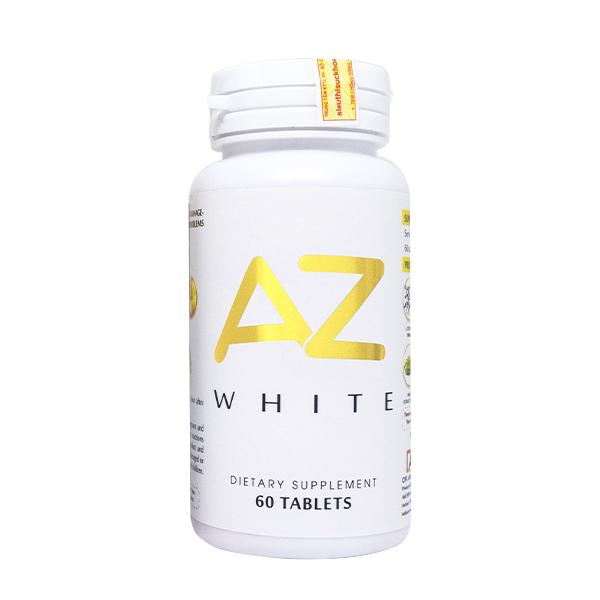 Thực phẩm chức năng Viên uống trắng da sáng tự nhiên AZ White 30 viên