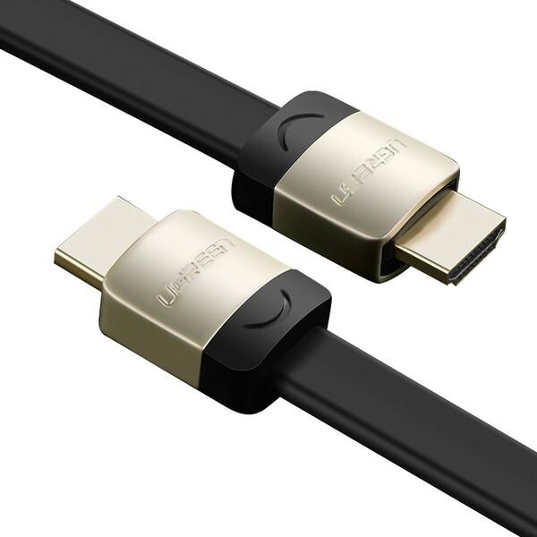 Cáp HDMI Dẹt mạ vàng Ugreen 4K*2K, 3D Hàng chính hãng - 2167673 , 7436318296041 , 62_13882942 , 259740 , Cap-HDMI-Det-ma-vang-Ugreen-4K2K-3D-Hang-chinh-hang-62_13882942 , tiki.vn , Cáp HDMI Dẹt mạ vàng Ugreen 4K*2K, 3D Hàng chính hãng