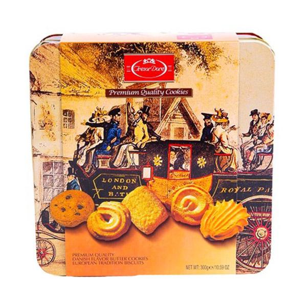 Bánh Vuông Tresor Dore (300g/Hộp) - 1919149 , 8358490508424 , 62_14687317 , 136000 , Banh-Vuong-Tresor-Dore-300g-Hop-62_14687317 , tiki.vn , Bánh Vuông Tresor Dore (300g/Hộp)