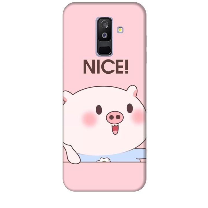 Ốp lưng dành cho điện thoại  SAMSUNG GALAXY A6P LUS 2018 Heo Con Xinh xắn