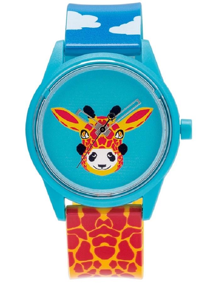 Đồng hồ Unisex Dây Cao Su QQ Smile Solar RP00J827Y- Họa tiết