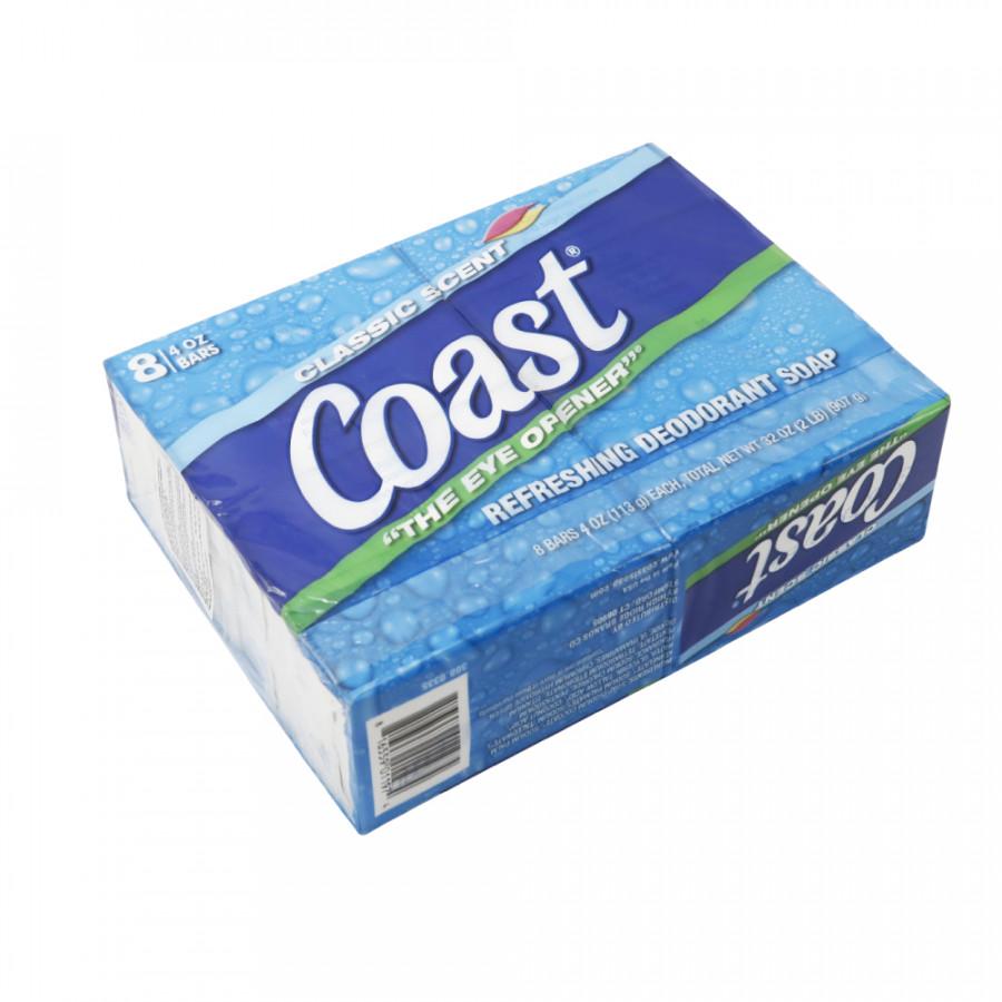 Xà phòng Coast Classic Scent Refreshing Deodorant Soap lốc 2 x113g - Nhập khẩu Mỹ