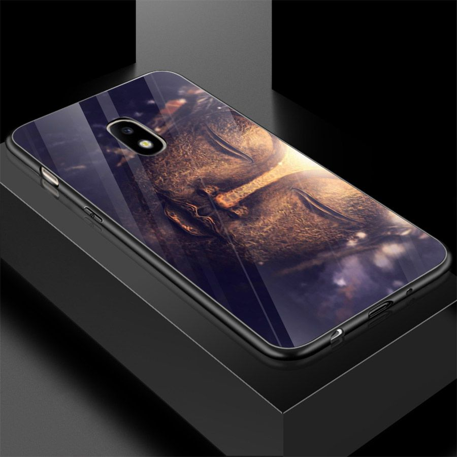 Ốp kính cường lực cho điện thoại Samsung Galaxy J2 - Tôn giáo MS TGIAO112 - Hàng Chính Hãng