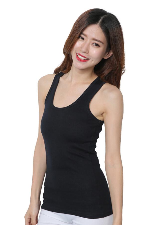 Áo Thun Ba Lỗ Màu Đen Trần Doanh (Free Size)