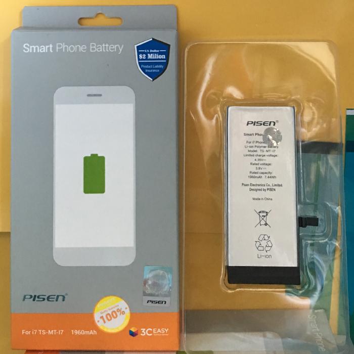 Pin iPhone 7 - Hàng Chính Hãng