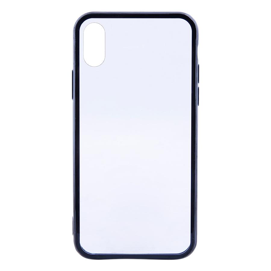 Ốp Lưng Dành Cho iPhone X Trong Suốt Viền Silicon Cao Cấp Sang Trọng