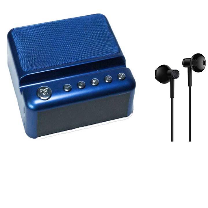 Combo Loa Bluetooth G24 Âm Thanh Đỉnh + Tặng Tai Nghe Mi Hires Siêu Chất- màu ngẫu nhiên