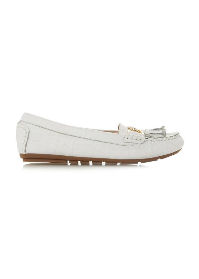 Giày Lười Nữ Đế Bằng Geena Dune London Casual Loafers