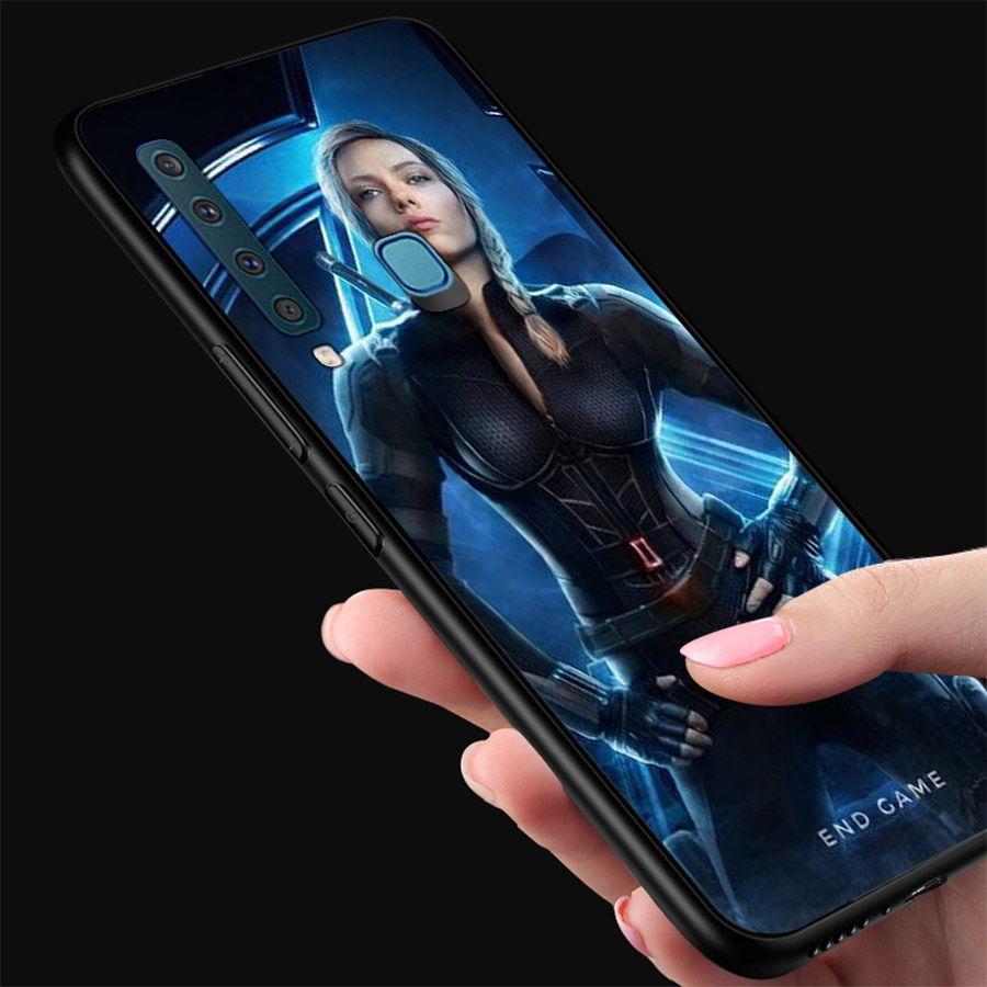 Ốp kính cường lực dành cho điện thoại Samsung Galaxy A9 2018/A9 Pro - M20 - siêu anh hùng - sah026