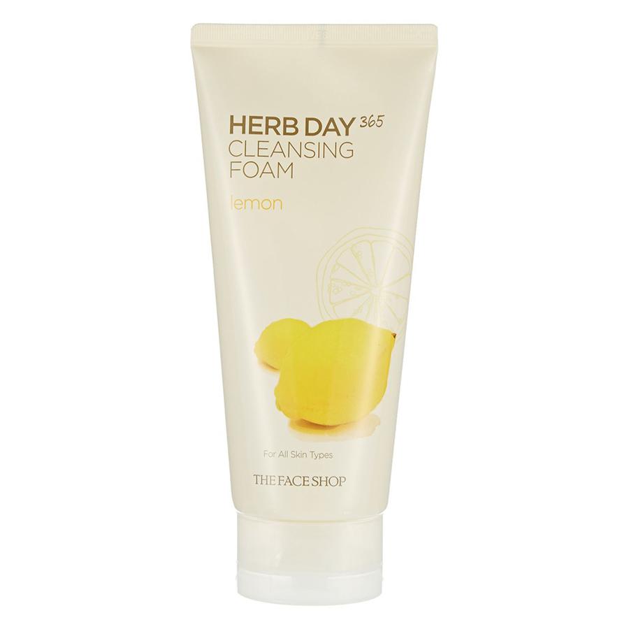 Sữa Rửa Mặt The Face Shop Herb Day 365 Cleansing Foam Lemon 30400119 (170ml) - 891443 , 4107121956448 , 62_1581235 , 109000 , Sua-Rua-Mat-The-Face-Shop-Herb-Day-365-Cleansing-Foam-Lemon-30400119-170ml-62_1581235 , tiki.vn , Sữa Rửa Mặt The Face Shop Herb Day 365 Cleansing Foam Lemon 30400119 (170ml)