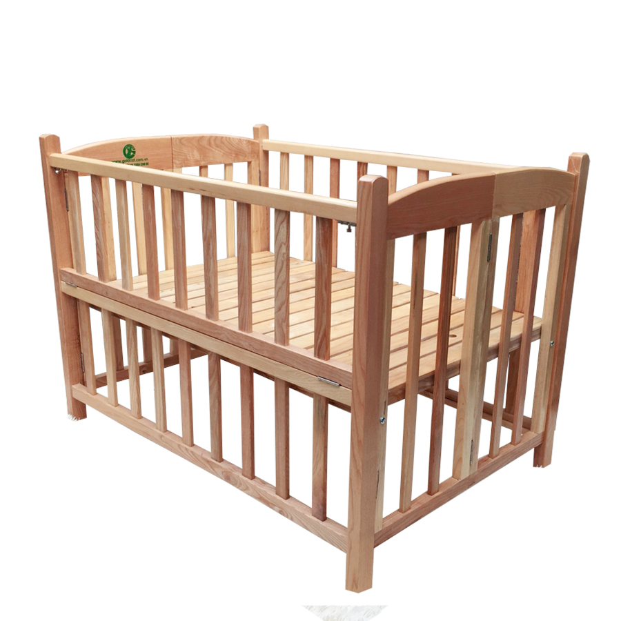 Cũi cho bé - Cũi giường chất gỗ Sồi GoldCat - 5136681 , 9640862705876 , 62_16556536 , 2350000 , Cui-cho-be-Cui-giuong-chat-go-Soi-GoldCat-62_16556536 , tiki.vn , Cũi cho bé - Cũi giường chất gỗ Sồi GoldCat