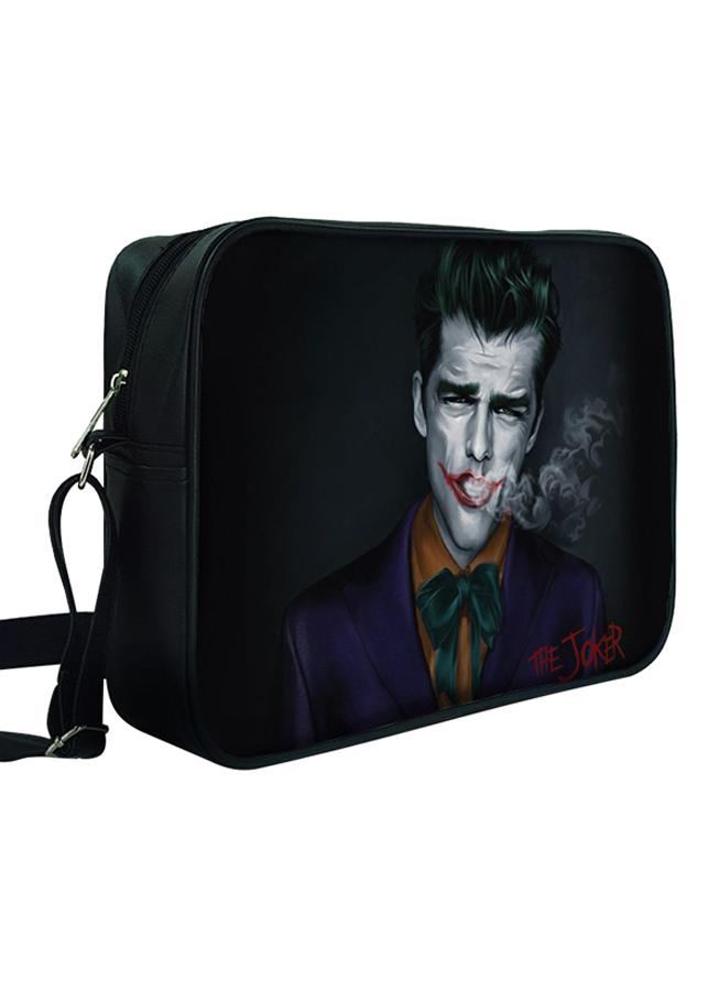Túi Đeo Chéo Hộp Unisex In Hình Joker - TCFF325