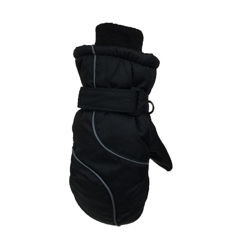 Thickening Kids Mittens Warm Winter Boys Girls Outdoor Skiing Windproof Gloves