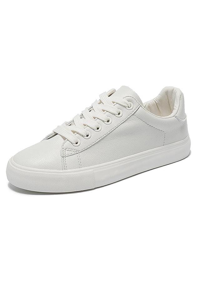 Giày Sneaker Nữ Form Thon Gọn, Gót Quả Dứa Dễ Thương HAPU - 18254513 , 4379315630452 , 62_8348498 , 249000 , Giay-Sneaker-Nu-Form-Thon-Gon-Got-Qua-Dua-De-Thuong-HAPU-62_8348498 , tiki.vn , Giày Sneaker Nữ Form Thon Gọn, Gót Quả Dứa Dễ Thương HAPU