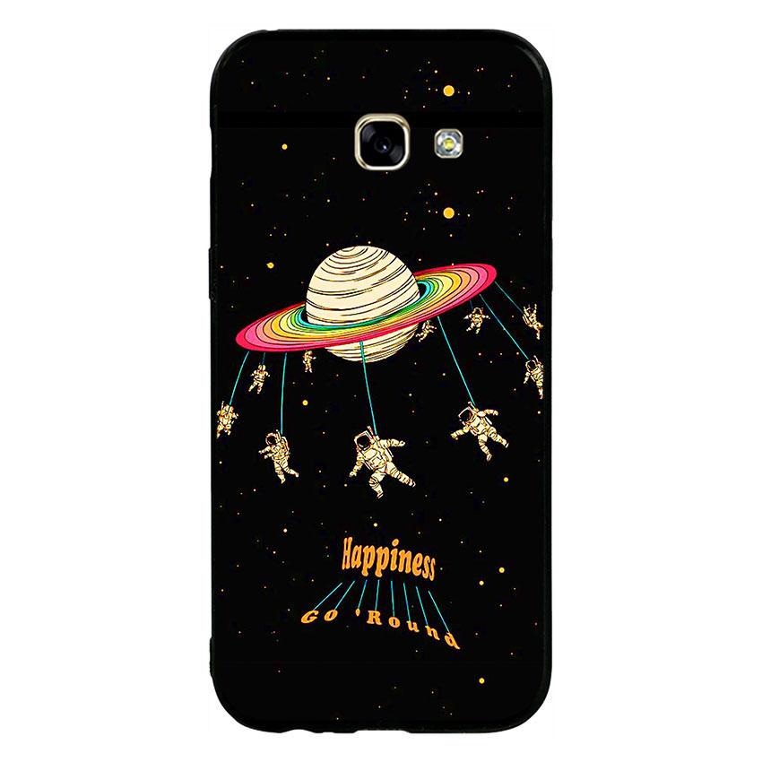 Ốp lưng viền TPU cho điện thoại Samsung Galaxy A5 2017 - Space 02