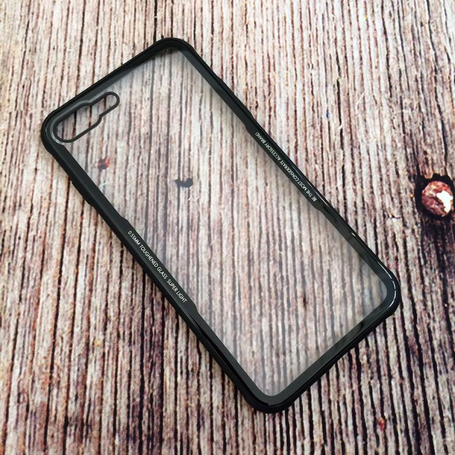 Ốp lưng Cafele nắp kính cường lực trong suốt không ố, viền màu dẻo chống sốc cho iPhone 7 Plus / iPhone 8 Plus - 1126229 , 3547488921689 , 62_7134963 , 260000 , Op-lung-Cafele-nap-kinh-cuong-luc-trong-suot-khong-o-vien-mau-deo-chong-soc-cho-iPhone-7-Plus--iPhone-8-Plus-62_7134963 , tiki.vn , Ốp lưng Cafele nắp kính cường lực trong suốt không ố, viền màu dẻo chố