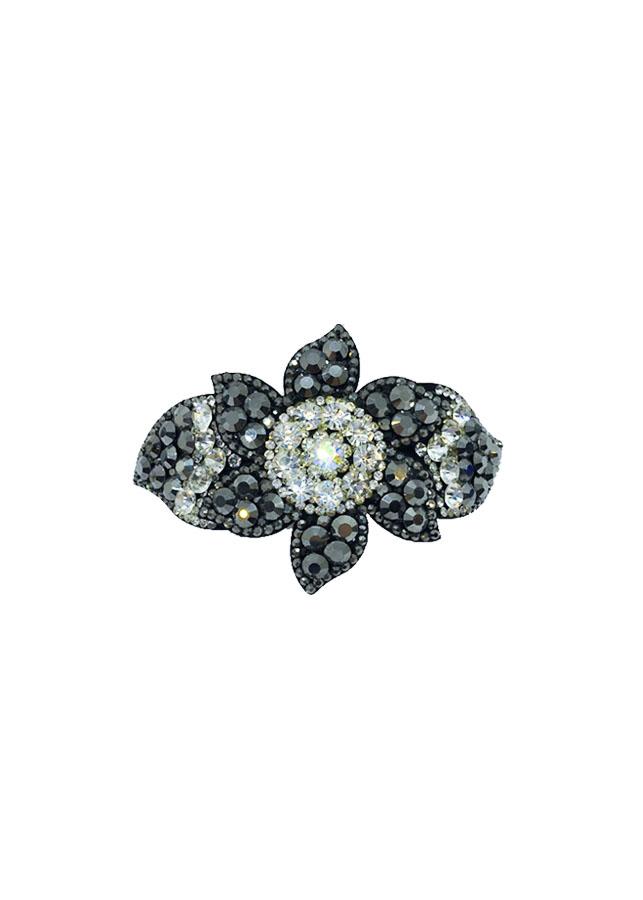 Kẹp Tóc Nữ Đính Đá Phối Màu Hình Bông Hoa - LBS849