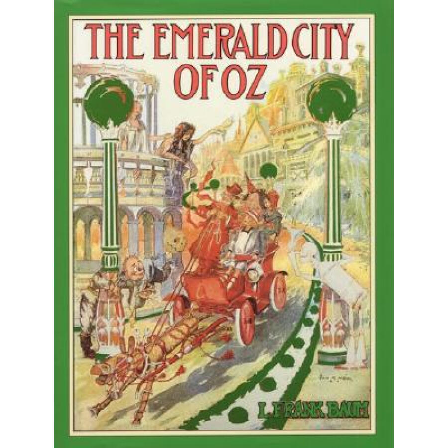 The Emerald City of Oz (Books of Wonder) - 1235114 , 2832839642117 , 62_5263773 , 586000 , The-Emerald-City-of-Oz-Books-of-Wonder-62_5263773 , tiki.vn , The Emerald City of Oz (Books of Wonder)