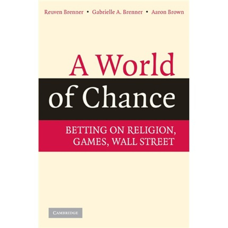 A World of Chance:Betting on Religion Games Wall Street - 1235238 , 9808258238593 , 62_5264417 , 885000 , A-World-of-ChanceBetting-on-Religion-Games-Wall-Street-62_5264417 , tiki.vn , A World of Chance:Betting on Religion Games Wall Street