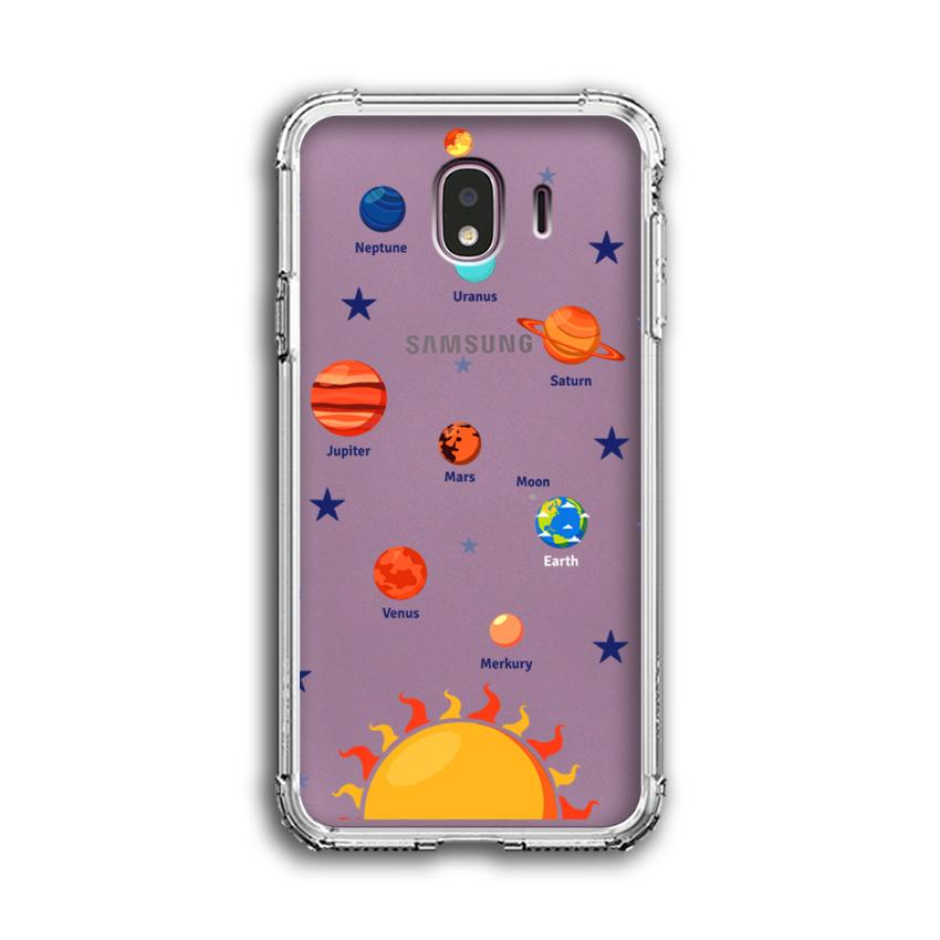 Ốp Lưng Dẻo Chống Sốc cho điện thoại Samsung Galaxy J4 - 04013 0550 SOLARSYSTEM05 - Hàng Chính Hãng